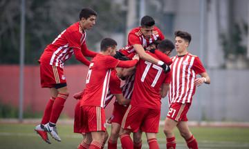 K17: «Χόρεψε» στην βροχή ο Ολυμπιακός, 4-0 τον Αστέρα Τρίπολης