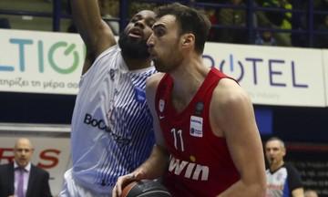 Μιλουτίνοφ: «Δεν ήταν άσχημο παιχνίδι, απλά δεν έμπαιναν τα σουτ»