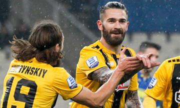 AEK-Αστέρας Τρίπολης 3-0: Εντεκάλεπτη καταιγίδα