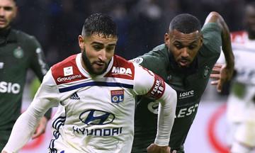 Ligue 1: Ανατροπή στο 95' η Λιόν κόντρα στην Σεντ Ετιέν(1-2)