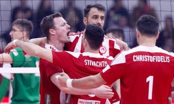 Ολυμπιακός-Παναθηναϊκός 3-1: Έτσι πανηγύρισαν οι ερυθρόλευκοι το 39-0 επί του «αιώνιου» (vid)