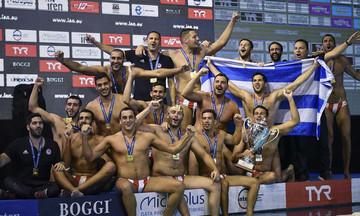 Αποθέωση του πρωταθλητή Ευρώπης Ολυμπιακού από τους Κροάτες