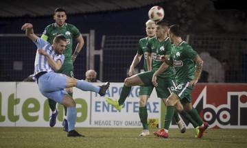 Λαμία-Παναθηναϊκός 1-0: Εφιάλτης δίχως τέλος