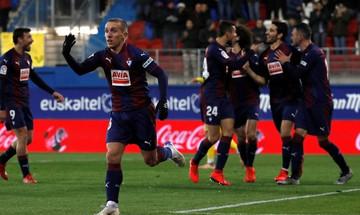 La Liga: Τρίποντο με Ντε Μπλάσις η Έιμπαρ, 3-0 την Εσπανιόλ (αποτελέσματα, βαθμολογία)