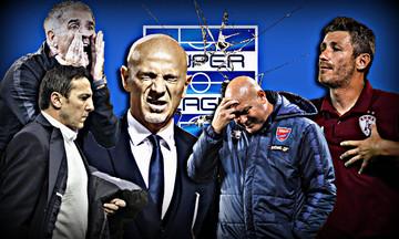 Super League: Τις έντεκα έφτασαν οι αλλαγές προπονητών!