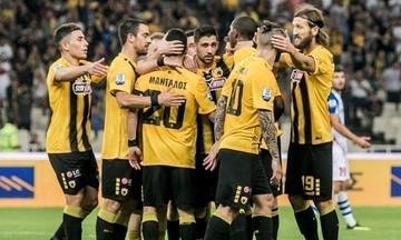Η αποστολή της ΑΕΚ για τον αγώνα κυπέλλου με τον Κισσαμικό