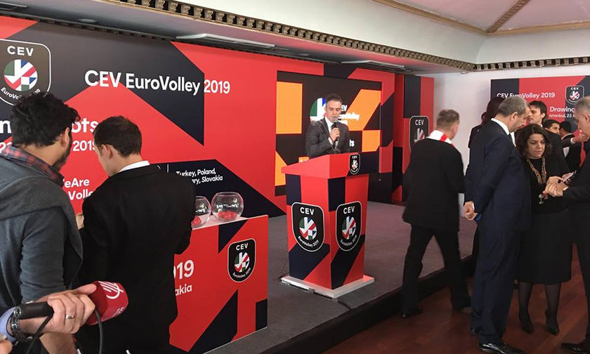 Live: Η κλήρωση του Eυρωπαϊκού Πρωταθλήματος Γυναικών