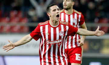 Ολυμπιακός - Ξάνθη 1-0: Το γκολ του Ποντένσε (vid)