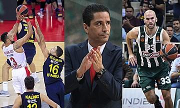 EuroLeague: Ολυμπιακός για το «διπλό» στην Τουρκία, Παναθηναϊκός κόντρα σε Σφαιρόπουλο