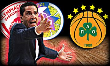 Σφαιρόπουλος vs Παναθηναϊκός: Κυρίαρχος ως «ερυθρόλευκος» προπονητής