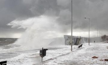Έκτακτο δελτίου καιρού: Χαλάζι και θυελλώδεις άνεμοι