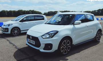 Το Suzuki Swift Sport «καταπίνει» το VW up! GTI (vid)