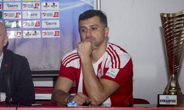 Χριστοφιδέλης: «Στόχος το πρωτάθλημα και το Κύπελλο, όχι το Λιγκ Καπ»