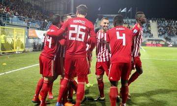 Τα highlights του Αστέρας Τρίπολης-Ολυμπιακός 0-2 (vid)