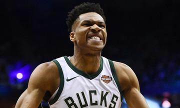 Παίκτης της εβδομάδας ξανά στο NBA ο Αντετοκούνμπο!