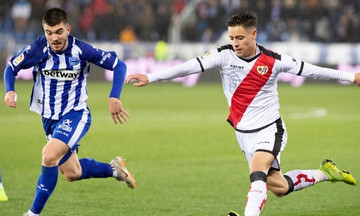 La Liga: Η Ράγιο «πλήγωσε» με 1-0 την Αλαβές (αποτελέσματα, βαθμολογία)
