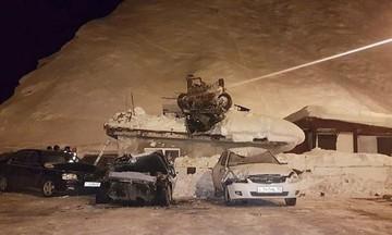Δυστύχημα σοκ στη Ρωσία: Έτρεχε με 200 χλμ/ώρα και πέταξε 50 μέτρα -Νεκρός ο οδηγός (vid-pics)