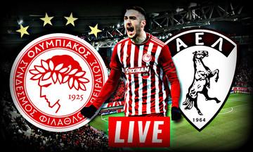 LIVE: Ολυμπιακός - ΑΕΛ 4-0