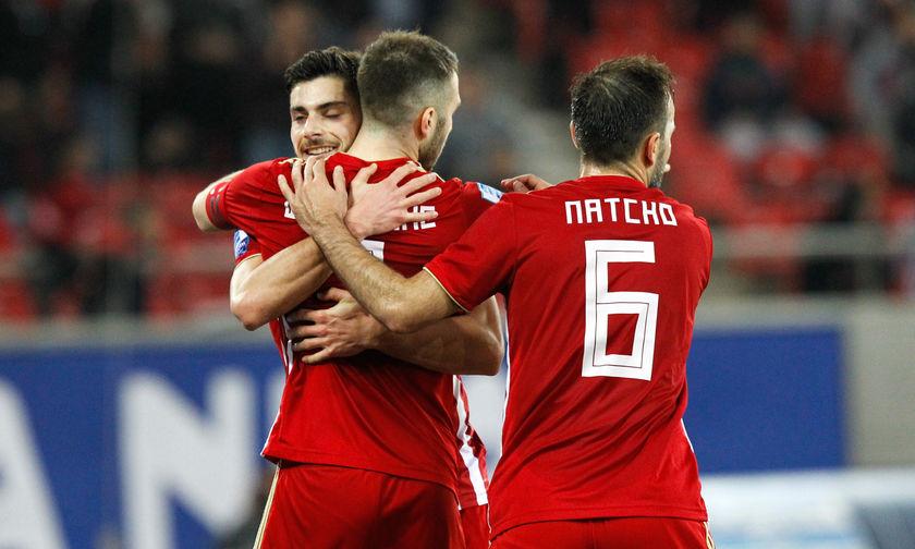 Τα γκολ του Ολυμπιακός-ΑΕΛ 4-0 (vid)