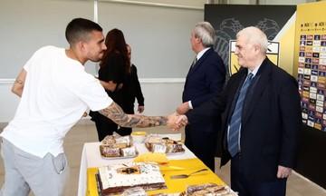 Η προτροπή Μελισσανίδη στους παίκτες της ΑΕΚ για το ντέρμπι με τον ΠΑΟΚ