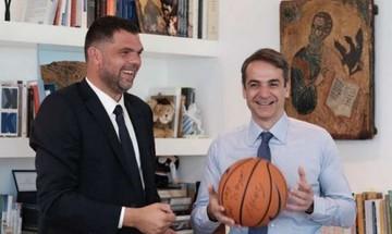 Υποψήφιος βουλευτής με τη ΝΔ ο πρώην μπασκετμπολίστας Δημήτρης Παπανικολάου