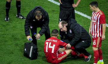 Τραυματίστηκε και αντικαταστάθηκε ο Ομάρ στον αγώνα Ολυμπιακού - Πανιώνιου