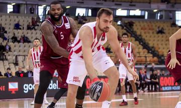 Basket League: Με Ήφαιστο στη Λήμνο ο Ολυμπιακός