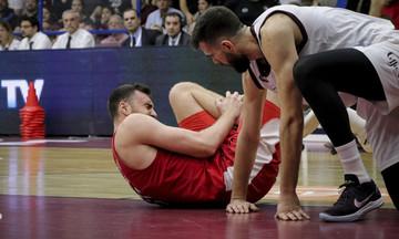 Μιλουτίνοφ: «Πονάω λιγότερο από τη στιγμή του τραυματισμού»