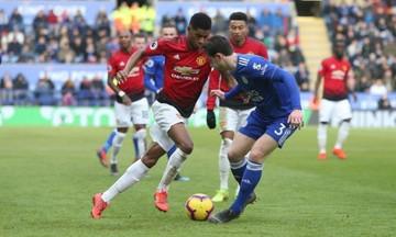 Premier League: Με Ράσφορντ οδηγό η Γιουνάιτεντ, 1-0 τη Λέστερ (vid)