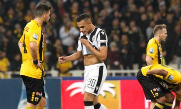 AEK-ΠΑΟΚ 1-1: Το σχόλιο του Ζαμπά για την αποβολή του (pic)