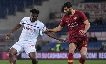Serie A: Ισόπαλες 1-1 Ρόμα και Μίλαν (αποτελέσματα, βαθμολογία)
