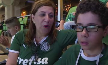 Μητέρα περιγράφει αγώνα ποδοσφαίρου στον με προβλήματα όρασης γιο της (vid)