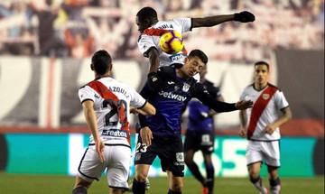 La Liga: Ανάσα για Λεγανές, 2-1 την Ράγιο (αποτελέσματα, βαθμολογία)