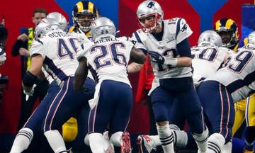 Super Bowl:Υποχώρησε η τηλεθέαση (98,2 εκατ.), αλλά αυξήθηκαν τα έσοδα (382 εκατ.)