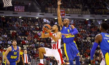 EuroLeague: Οι διαιτητές του Μακάμπι - Ολυμπιακός