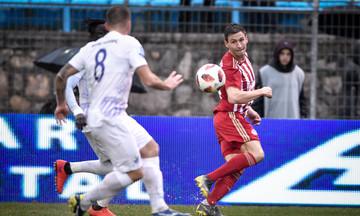 Τα γκολ του πρώτου ημιχρόνου στο Λαμία-Ολυμπιακός 2-1 (vid)