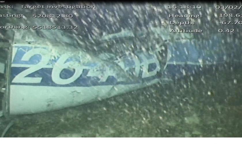 Ανασύρθηκε η σορός από τα συντρίμμια στο αεροσκάφος που επέβαινε ο Εμιλιάνο Σάλα