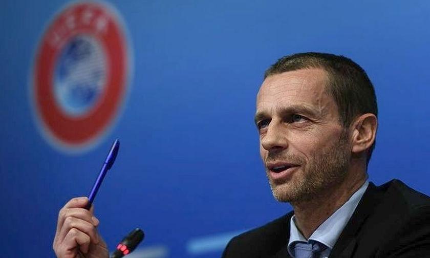 Επανεξελέγη πρόεδρος της UEFA ο Τσεφερίν