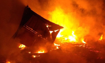 Τραγωδία στη Βραζιλία: Το ξέσπασμα της φωτιάς (vid.)