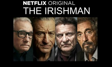 Σκορσέζε, Ντε Νίρο και Πατσίνο συναντιούνται στον «Ιρλανδό» του Netflix
