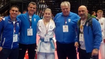 «Χάλκινη» η Ζερβού στο Ευρωπαϊκό πρωτάθλημα Καράτε της Δανίας