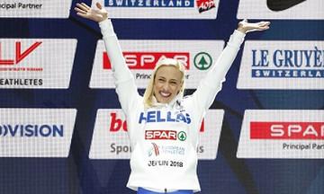 Ρεκόρ η Κυριακοπούλου στην Ισπανία!