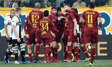 «Άλμα» τετράδας για τη Ρόμα, 3-0 την Κιέβο