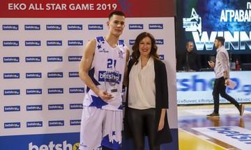 All Star Basket '19: Θρίαμβος του Αγραβάνη στον διαγωνισμό καρφωμάτων!