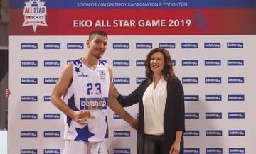 ΕΚΟ All Star Basket '19: Ο Φλιώνης νικητής στον διαγωνισμό τριπόντων