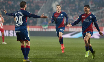 La Liga: Νίκη της Ουέσκα στην έδρα της Ζιρόνα με 2-0