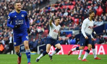 Premier League: Η Τότεναμ 3-1 τη Λέστερ στο κόλπο για τον τίτλο (βαθμολογία, vid)