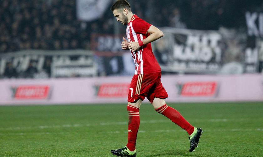 Φόβος για απουσία του Φορτούνη από τα ματς με Ντιναμό και ΑΕΚ