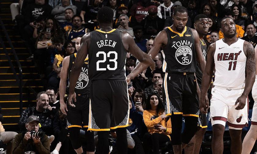 NBA: Νίκη σε ματς-θρίλερ των Ουόριορς στο Γκόλντεν Στέιτ