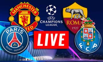 LIVE οι αγώνες του Champions League (22:00)